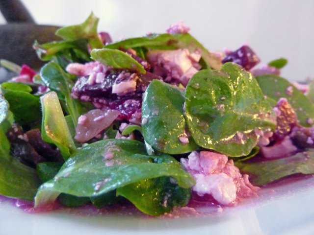 Leckerer und fix zubereiteter Salat