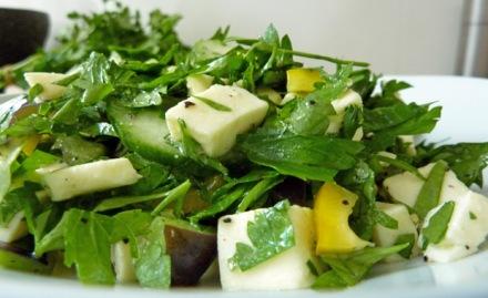 Petersilie-Salat histaminarm, laktosefrei