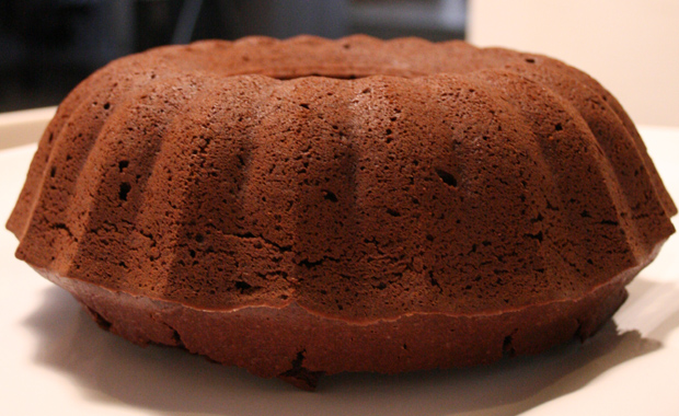 Schoko-Rote-Bete-Kuchen, Napfform